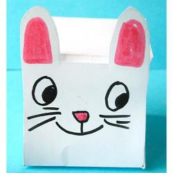 Fabriquer une petite boîte lapin Pâques
