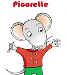 Portrait et réalisations de Picorette, membre de la brigade créative de Tête à Modeler