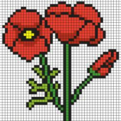 Pixel art nature : vous cherchez des modèles de Pixel art avec des fleurs, des arbres ou des animaux ? Cette sélection va vous plaire !