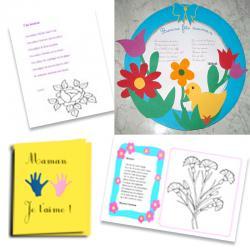 Poèmes Fête des mères et chansons pour la fête des mères