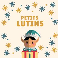 """Imprimez gratuitement le poème """"les petits lutins"""" afin de l'apprendre en famille pendant la période de Noël."""
