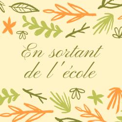 """Imprimer, lire, réciter et illustrer la célèbre poésie de J. Prévert """"en sortant de l'école"""". Une poésie amusante sur le thème de l'école."""
