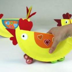 Bricolage poule de Pâques