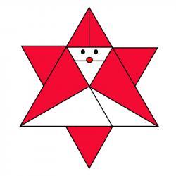 Comment faire un Père Noël en origami ? Voici un pas-à-pas pour faire un papa Noël en origami.