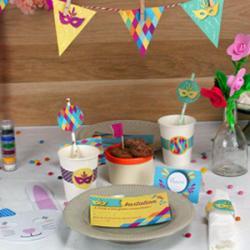 Des décorations de Carnaval à imprimer gratuitement pour préparer votre goûter