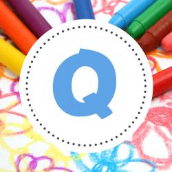 Q - Coloriage prénom commençant par Q - Quentin