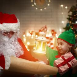Un article pour répondre à la question : Qui aide le Père Noël ?