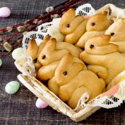 La recette du lapin en brioche de Pâques