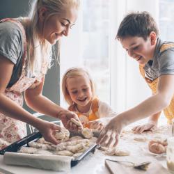 Les desserts de cuisine illustrées pour les enfants