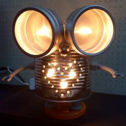 tuto realisation robot lampe