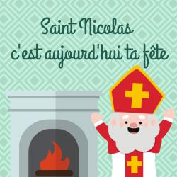 Chanson Saint Nicolas c'est aujourd'hui ta fête pour chanter avec les enfants. Découvrir une nouvelle version des chansons de Saint Nicolas. Paroles avec version pour carnet de chants.