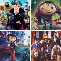 Des films pour enfants et des dessins animés classés par thème comme Halloween, Noël mais aussi la forêt, la mer, la musique ou même l'hiver