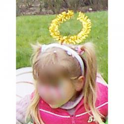 Serre tête antennes papillon pour le déguisement