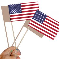 Solidarité avec les USA : un drapeau américain