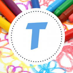 Coloriages des prénoms qui commencent par T