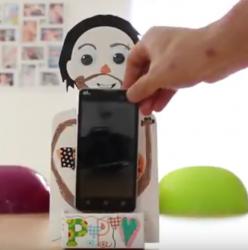 Une activité à faire avec les enfants : le porte smartphone