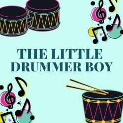 """The little drummer boy.  Chanson The Little Drummer Boy, la version en anglais de la chanson """" L'enfant au tambour"""". Une chanson de Noël en anglais pour chanter avec les enfants. Paroles avec version pour carnet de chants.Paroles de la"""