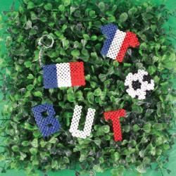 Coupe du monde de football : une sélection d'activités pour les supporters de la France pour la coupe du monde de football. Des activités tricolores, bleu, blanc et rouge à porter sur soi ou pour décorer sa maison. Soyez le plus grand supporter de la Fran