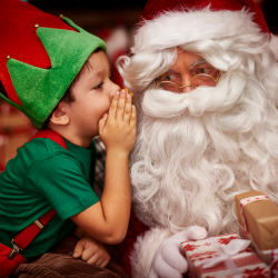Des questions et des réponses aux enfants sur les lutins de Noël