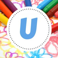Coloriages prénoms U