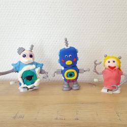 tuto bricolage enfants robot fête des pères