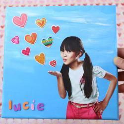 Un tuto pour apprendre à réaliser un tableau avec la photo d'un enfant