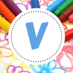 Coloriages prénoms V