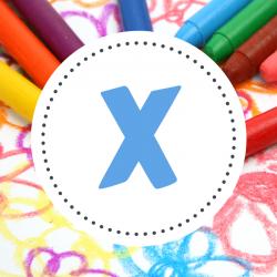 Coloriage prénoms X