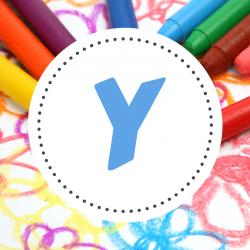Coloriages prénoms Y