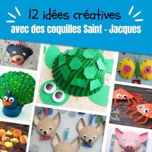 Retrouvez nos idées d'activités à faire avec des coquilles Saint - Jacques.