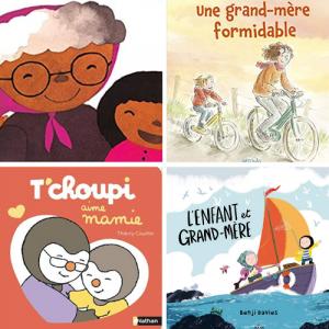 Voici une sélection de 13 albums jeunesse qui parlent du lien unique qui lie les enfants avec leurs mamies.