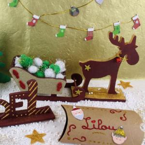 Nous avons sélectionné nos produits favoris pour se déguiser, créer et tout décorer pendant Noël. Une fête très créative que les enfants adorent !