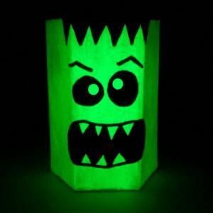 Tuto pour réaliser un pot à crayons monstrueux pour la décoration d'Halloween
