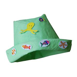 Un petit chapeau origami à faire avec les enfants pour l'été