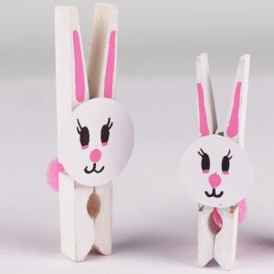 Découvrez comment réaliser un mignon petit lapin à partir d'une pince à linge. C'es tune activité parfaite pour Pâques