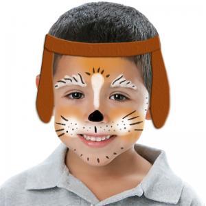 Maquillage tête de petit chien