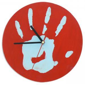 Horloge empreinte
