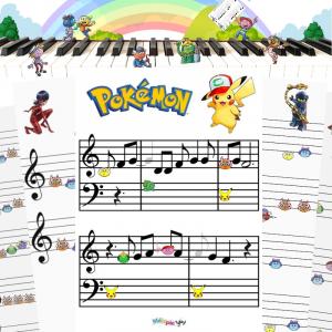 La Reine des Neiges, Pokémon, Pat patrouille : retrouvez nos partitions et rejouez les musiques des dessins animés préférés des enfants.