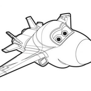 Un dessin à imprimer à télécharger gratuitement de Jérôme de Super Wings
