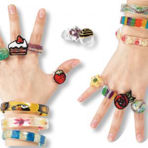 Bagues et bracelets à décorer