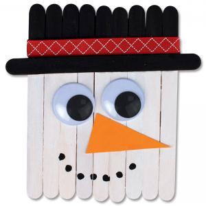 DIY - Comment réaliser un bonhomme de neige en bâtonnets