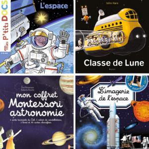 Vous cherchez un livre enfant sur l'astronomie ? Pour découvrir les secrets des étoiles et de l'espace, les éditeurs proposent de nombreuses histoires et des documentaires. Voici nos titreschouchous !
