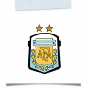 Activité blason foot Argentine mondial 2014