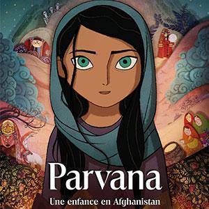 Le dessin animé Parvana sort en salle en juin 2018. Le film d'animation d'Angelina Jolie raconte l'enfance en Afghanistan d'une petite fille nommé Parvana. Suite à l'arrestation de son père et désormais seule, elle décide de se travestir pour sauver son p