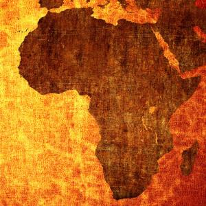 Afrique : Mot du glossaire Tête à modeler. L'Afrique est l'un des 5 continents.  Activités associées.