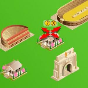 Un jeu éducatif pour mieux connaître la rome antique et construire une cité romaine