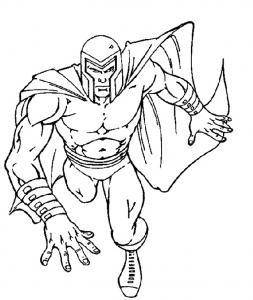Coloriage de Magneto