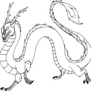 Coloriage Dragon Coloriage Dragon Imaginaires Sur Tete A Modeler