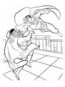 Coloriage Superman #1