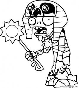 Coloriage zombie #10